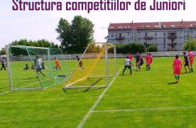 Structura Campionatelor judetene pentru juniori